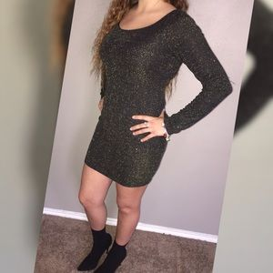 Wet Seal Glittery Dress